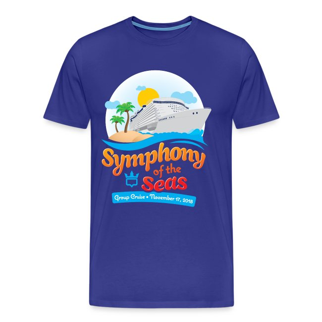 Men's Symphony of the Seas Group Cruise T-Shirt