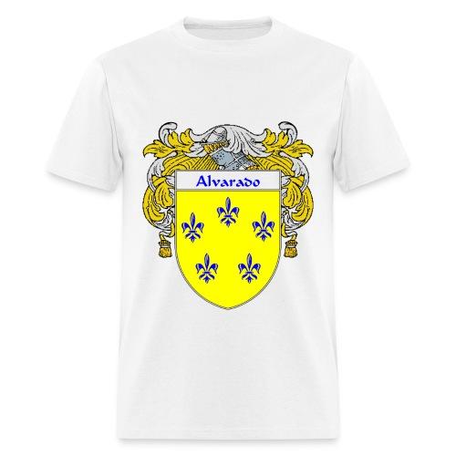 Alvarado Coat of Arms/Family Crest - Men's T-Shirt