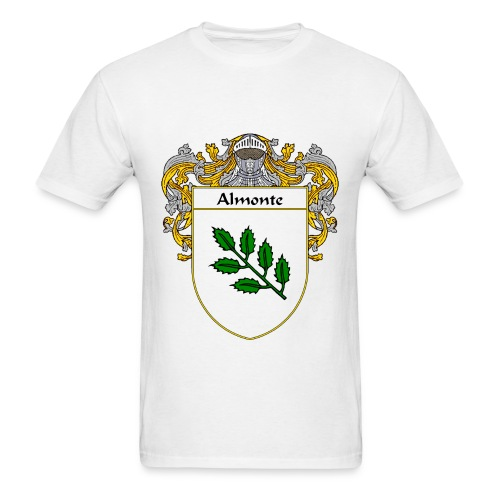 Almonte Coat of Arms/Family Crest - Men's T-Shirt