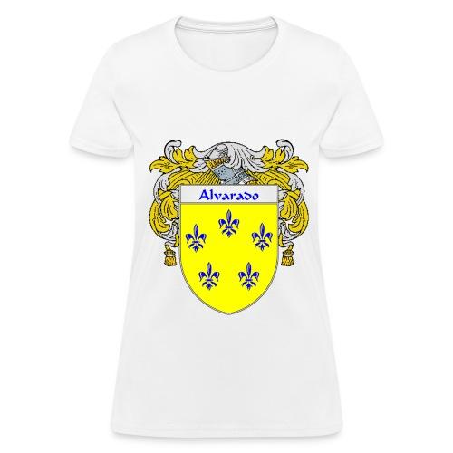 Alvarado Coat of Arms/Family Crest - Women's T-Shirt