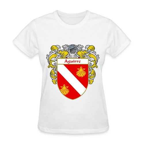 Aguirre Coat of Arms/Family Crest - Women's T-Shirt