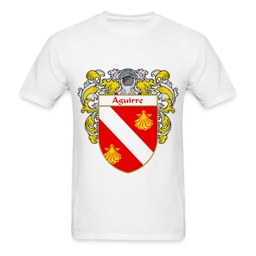 Aguirre Coat of Arms/Family Crest - Men's T-Shirt