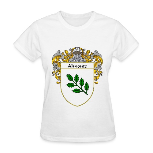 Almonte Coat of Arms/Family Crest - Women's T-Shirt