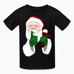 Santa Clause T-shirts Kid's Christmas Shirts