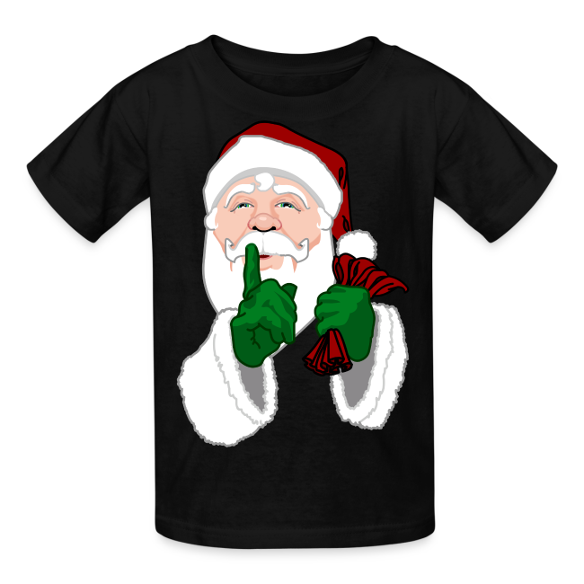 Santa Clause T-shirts Kid's Christmas Santa Shirts