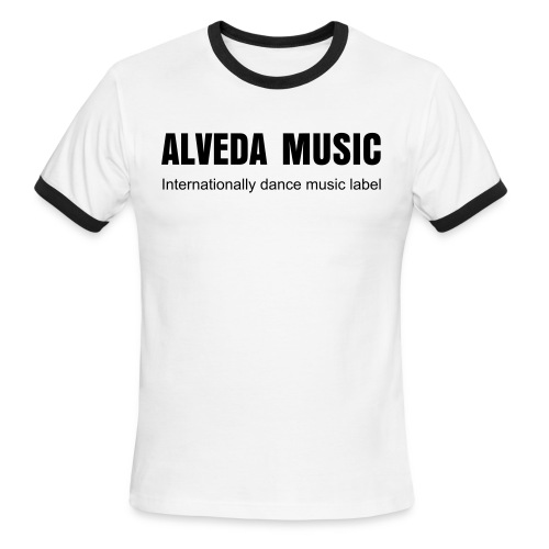 ALVEDA T-MAN - Men's Ringer T-Shirt