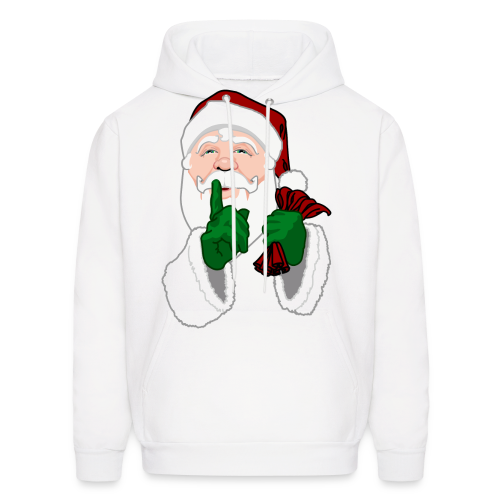 Santa Clause Hoodie Men's Christmas Hooded Sweatshirt - Men's Hoodie