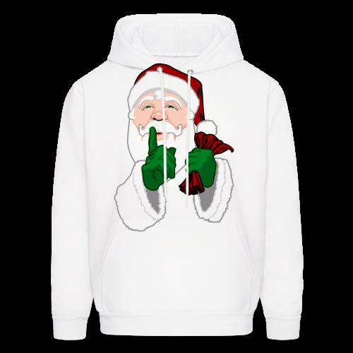 Santa Clause Hoodie Men's Christmas Hooded Sweatshirt - Men's Hoodie