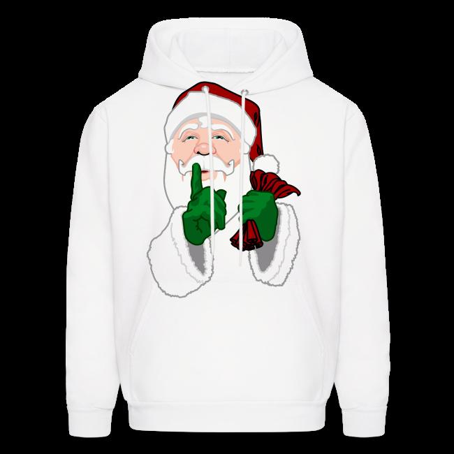 Santa Clause Hoodie Men's Christmas Hooded Sweatshirt