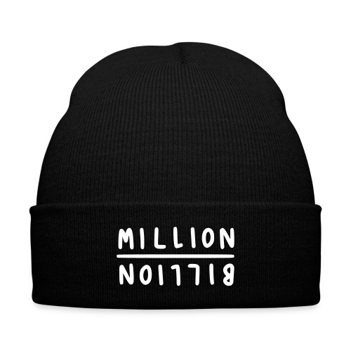 FFM M&B - Knit Cap with Cuff Print