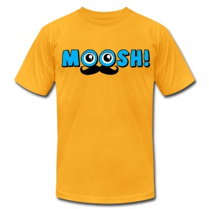 MUSTACHE for MEN  - Men's T-Shirt by American Apparel