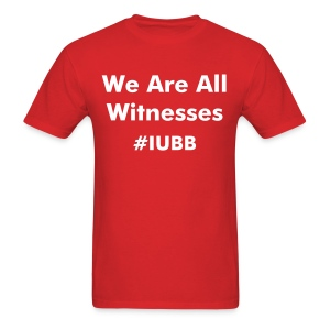 We Are All Witnesses - Men's T-Shirt