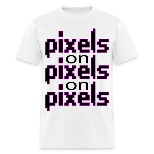 Pixels - Men's T-Shirt