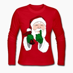 Santa Clause Shirts Women's Christmas Shirts