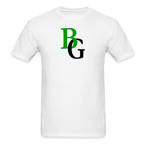 BG Green Logo Tee - Men's T-Shirt