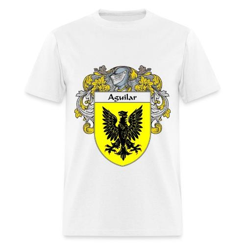 Aguilar Coat of Arms/Family Crest - Men's T-Shirt