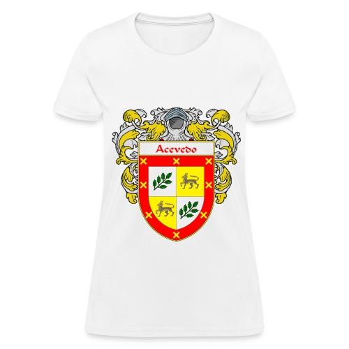 Acevedo Coat of Arms/Family Crest - Women's T-Shirt