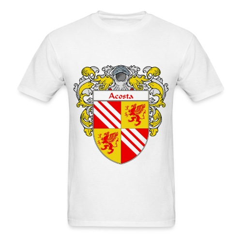 Acosta Coat of Arms/Family Crest - Men's T-Shirt