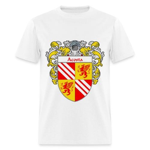 Acosta Coat of Arms/Family Crest - Men's T-Shirt