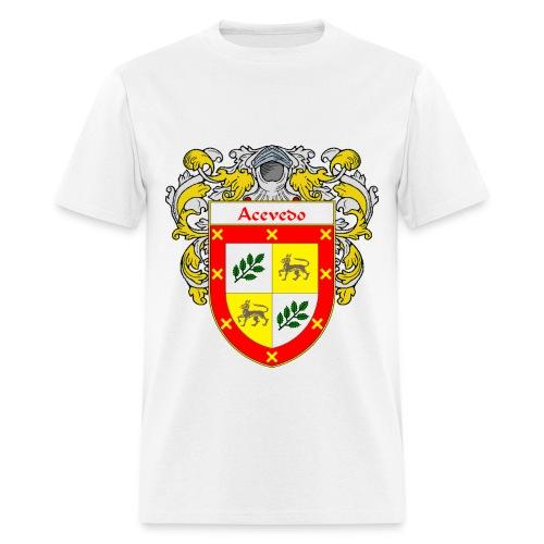 Acevedo Coat of Arms/Family Crest - Men's T-Shirt