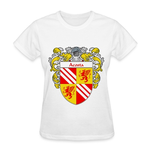 Acosta Coat of Arms/Family Crest - Women's T-Shirt