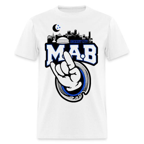 Crescent City MAB Tee White - Men's T-Shirt
