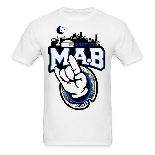 Crescent City MAB Tee White - Men's T-Shirt