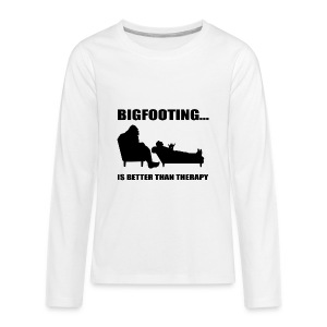 Bigfooting Therapy Kids' Premium Long Sleeve T-Shirt - Kids' Premium Long Sleeve T-Shirt