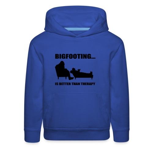 Bigfooting Therapy Kids' Premium Hoodie - Kids' Premium Hoodie