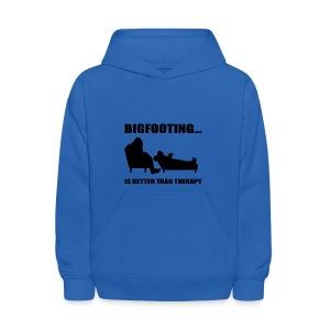 Bigfooting Therapy Kids' Hoodie - Kids' Hoodie