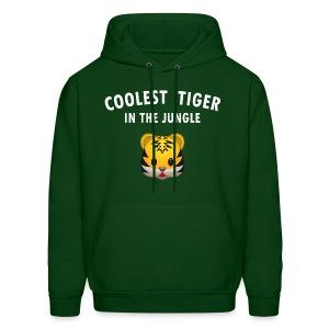 Coolest Tiger Hoodie - Men's Hoodie