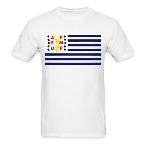 The Illest t-shirt Zip Em Up Flag - Men's T-Shirt