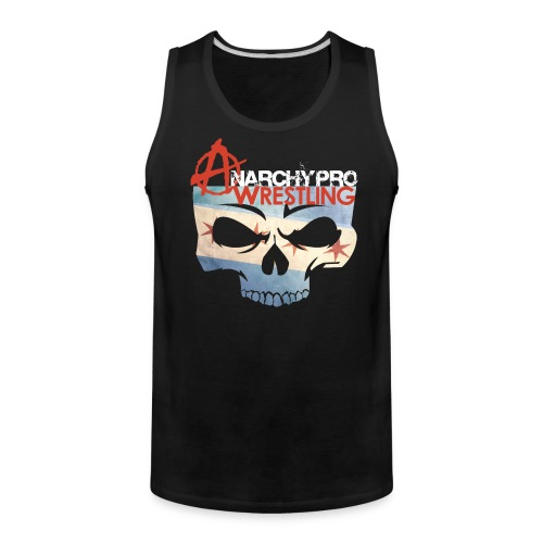 Anarchy Chicago flag tank - Men's Premium Tank