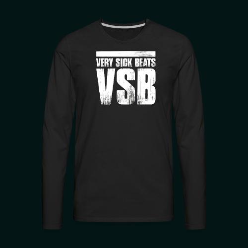 VSB Men's Premium Long Sleeve Tee - Men's Premium Long Sleeve T-Shirt