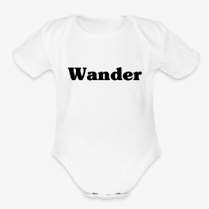Baby Wanderer - Short Sleeve Baby Bodysuit