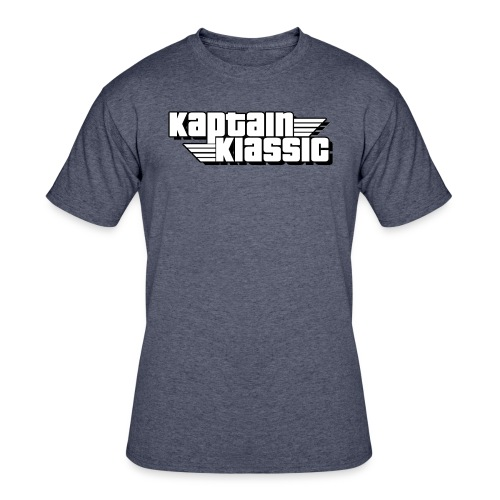 Kaptain Klassic Logo T - Men's 50/50 T-Shirt