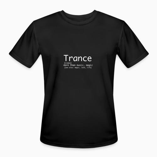 Trance Nerd - Gentlemen - Men's Moisture Wicking Performance T-Shirt