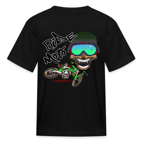 Kids - Freak - ride oto - Kids' T-Shirt