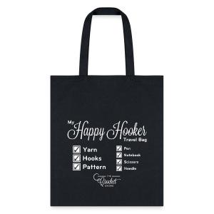 My Happy Hooker Travel Bag - Tote Bag