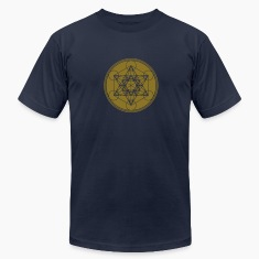 Vector - Metatrons Cube - Flower of Life T-Shirts