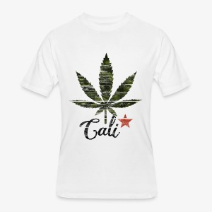 Cali Weed - Men's 50/50 T-Shirt