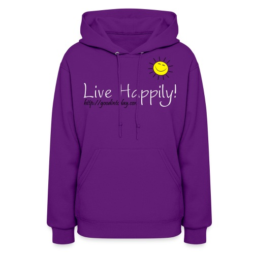 Live Happily! - Women's Hoodie