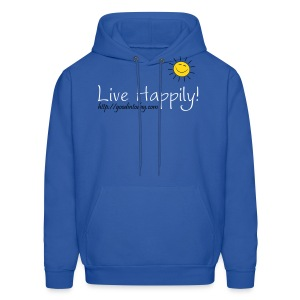 Live Happily! - Men's Hoodie