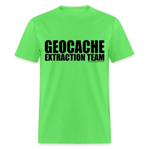 Geocache Extraction Team - Men's T-Shirt