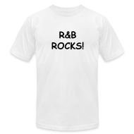 T-Shirts ~ Men's T-Shirt by American Apparel ~ R&B Rocks