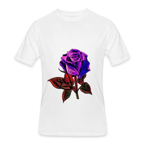 Blue rose - Men's 50/50 T-Shirt