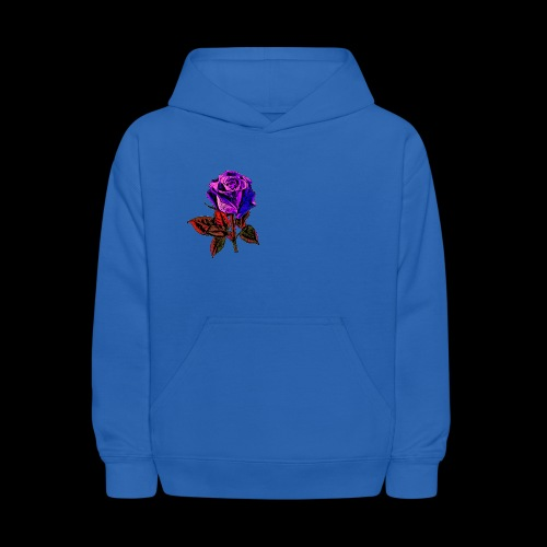 Blue rose - Kids' Hoodie
