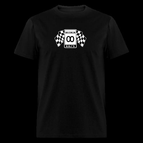 Speed Limit Infinity - Men's T-Shirt