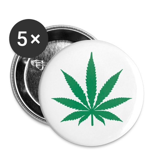 Weed 5-Pack Buttons - Small Buttons