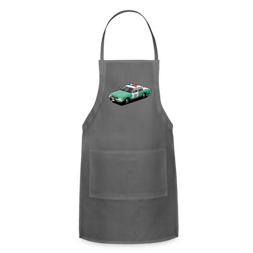 SD County Sheriff Department Vintage Police Car - Adjustable Apron